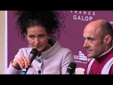 Conférence de Presse du Qatar Prix de la Forêt