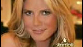 Heidi Klum stardoll chat, behind the scenes.