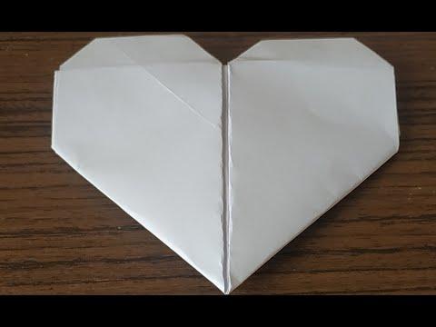 Своими руками сделать сердечко из бумаги