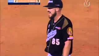 Loiger Padrón retira por la vía rápida el noveno inning del Magallanes | Leones | LVBP 2015-2016