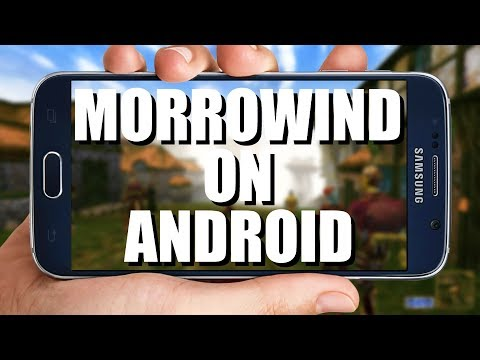 Suggestion - Like Morrowind & dont mind using android? This