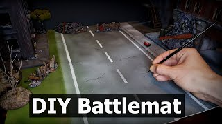 Make Your Own Battlemats - Easy DIY Battlemats for Wargaming Terrain and Tabletop Games