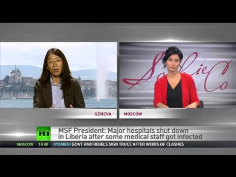 'World losing battle with Ebola' – Doctors Without Borders Chief