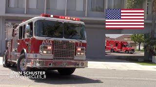 Anaheim F&R Truck 1 and Ambulance 1 (NEW PAINT SCHEME)