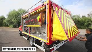 Véhicule Pompiers Grimp SDIS 10
