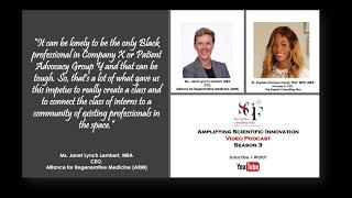 Amplifying Scientific Innovation Janet Lynch Lambert CEO Alliance for Regenerative Medicine ARM