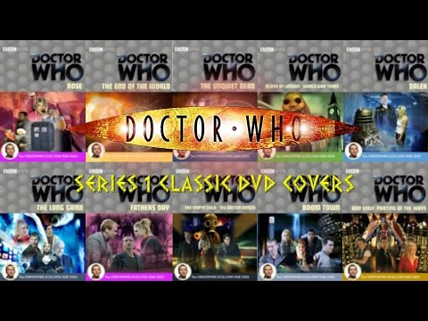 Doctor Who Series 1 (2005) Classic DVD Covers