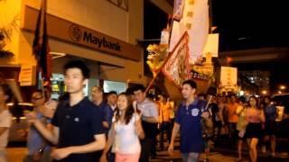 吉隆坡山宝宫庆祝大二伯爷盂兰胜会