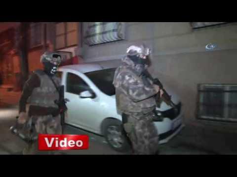 İstanbul'da torbacılara şafak operasyonu