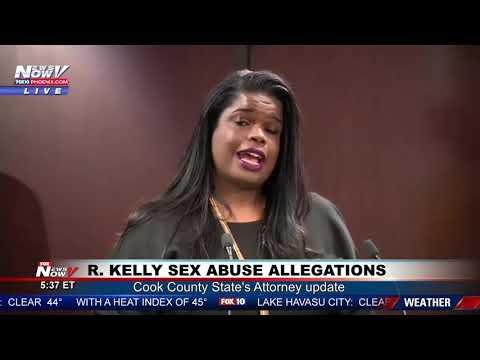 R. KELLY INVESTIGATION: Criminal Investigation Into Sex Abuse Allegations