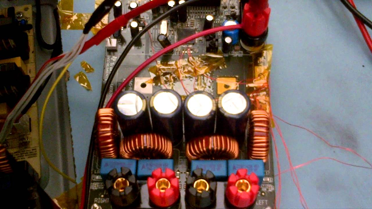 Tas5631b Test Dallas Tx Youtube 300 Watt Class D Audio Amplifier Board Tas5613 300w Mono Power Amp