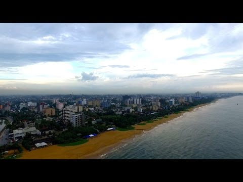 Dehiwala Mount Lavinia Beach |  Colombo Aerial  | GoPlaces Sri Lanka