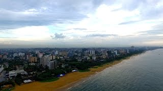 Dehiwala Mount Lavinia Beach |  Colombo Aerial  | GoPlaces Sri Lanka