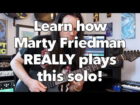 Megadeth Tornado of Souls guitar solo lesson! Weekend Wankshop 200