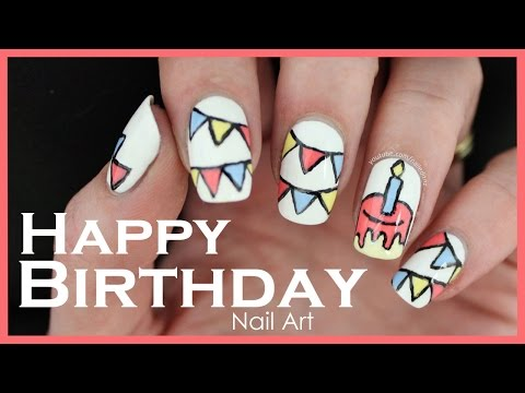 Cool Etsy Nail Polish Rack Thick Essie Chinchilly Nail Polish Round Opi Gray Nail Polish Names Regular Nail Polish With Gel Top Coat Youthful Nail Art Design Tutorial GreenColoring Changing Nail Polish Happy Birthday\u0026quot; Nail Art Tutorial   YouTube