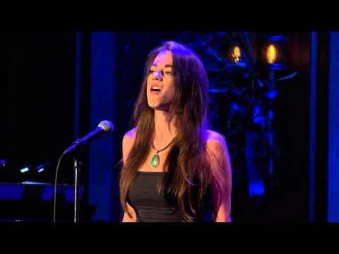 Allison Griffith sings