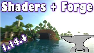 Tutorial - How to Install Shaders and Forge for Minecraft 1.14.4