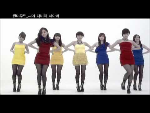 SeeYa 씨야  & Davichi 다비치 & T-Ara 티아라 (+) Wonder Wonder 원더우먼
