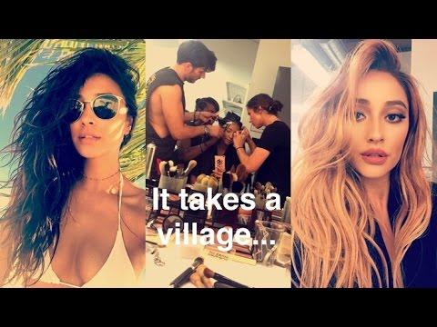Shay Mitchell   ft. Sasha Pieterse & Ashley Benson   Snapchat Videos   July 2016 pt.1