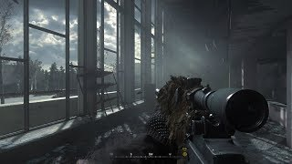 Most Beautiful SNIPER Mission Ever ! Chernobyl. Call of Duty MW1 Remastered