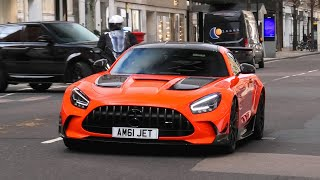 SUPERCARS in LONDON April 2021
