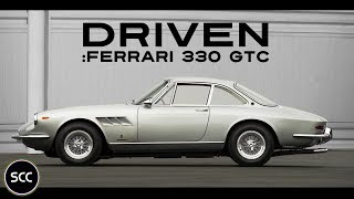 FERRARI 330 GTC 1967 - Test drive in top gear - V12 engine sound | SCC TV
