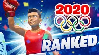 MY FIRST ONLINE RANKED OLYMPICS (Tokyo 2020)