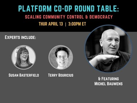 #PlatformCoop Round Table: Scaling Community Control & User Democracy