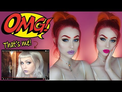 Recreating My FIRST EVER Makeup Tutorial | Evelina Forsell