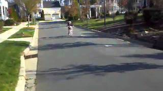Kids Riding Bicycles