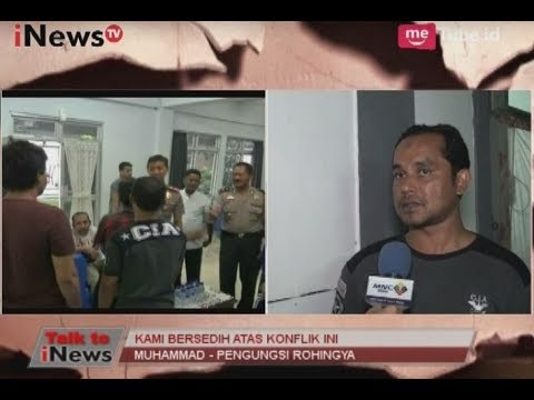 Anak Kecil, Ibu-ibu & Semua Etnis Rohingya Dibakar Di Dalam Rumah Part 01 - Talk To INews 05/09
