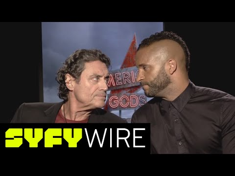American Gods' Ian McShane and Ricky Whittle: Adapting Neil Gaiman's Work | SYFY WIRE