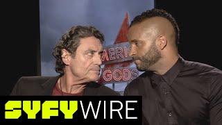American Gods' Ian McShane and Ricky Whittle: Adapting Neil Gaiman's Work   Syfy Wire