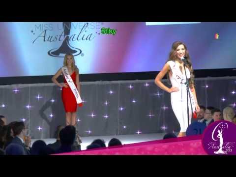 Miss Universe Australia 2015 - Crowning Ceremony