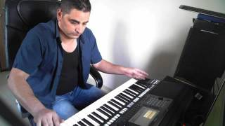 belal nassar(song from goerge wassof with the yamaha psr a3000 instrument)