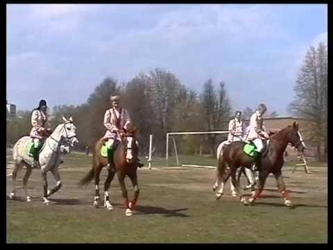 """Выступление на лошадях стадион """"Олимп"""" Фрязино"""
