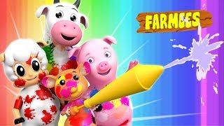 Learn Colors   Songs For Kids  Nursery Rhymes by Farmees