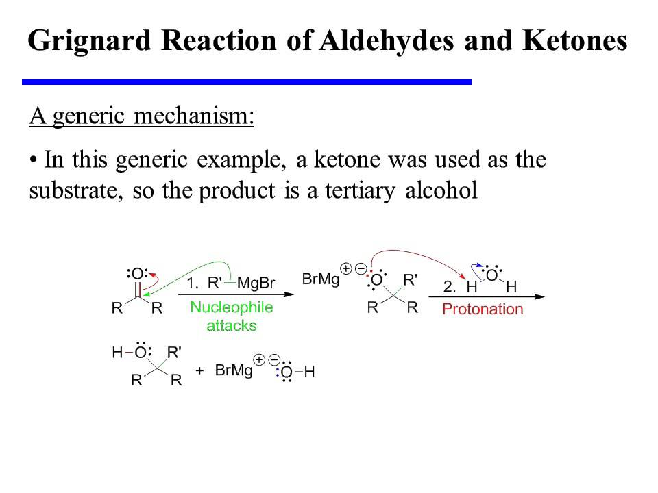 reactions of aldehydes and ketones with Organic chemistry, 5e (bruice) chapter 17: carbonyl compounds ii 1) which of the following compounds is an aldehyde a) i b) ii c) iii d) iv which of the following characterizes the reactions of aldehydes and ketones a) electrophilic addition b) electrophilic substitution.