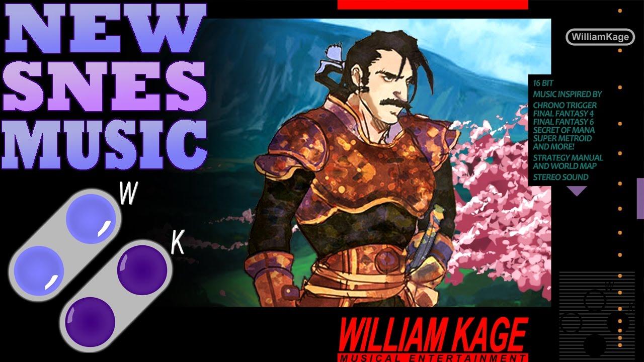William Kage Kugane Highlands New SNES Music Final Fantasy 6