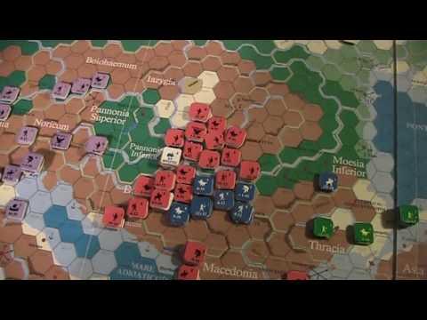 A lonesome Gamer plays Imperium Romanun Constantius II vs  Magnentius pt 2