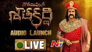 NBK's Gautamiputra Satakarni Audio Launch || LIVE || GPSK || Balakrishna || Krish