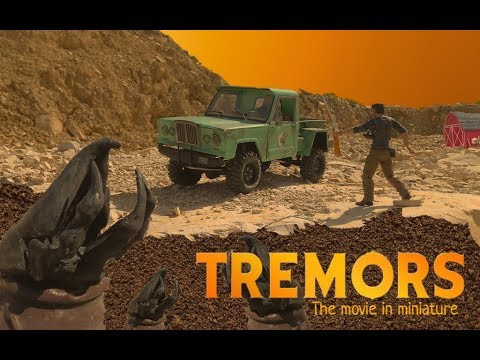 *RC TREMORS* 2019 Movie In Miniature.Дрожь земли Stop-motion 0+