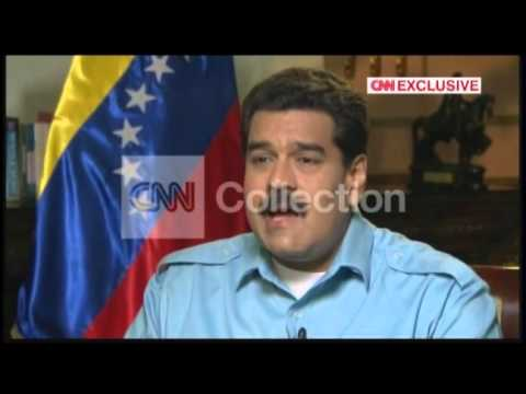 CNN EXCLUSIVE:AMANPOUR VENEZUELA MADURO VIOLENCE