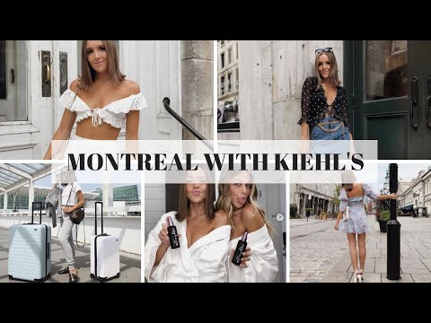 WEEKEND IN MONTREAL WITH KIEHL'S  Emma Rose