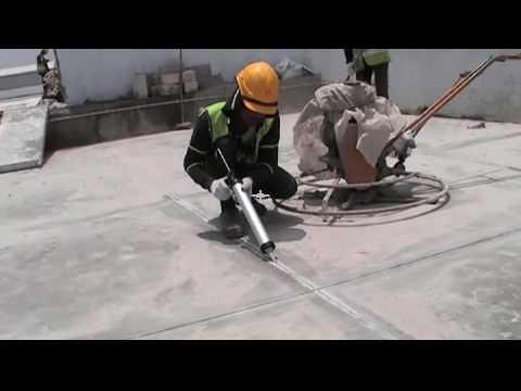 Hướng dẫn sử dụng keo trám khe co giãn bê tông BS 8620 đơn giản hiệu quả