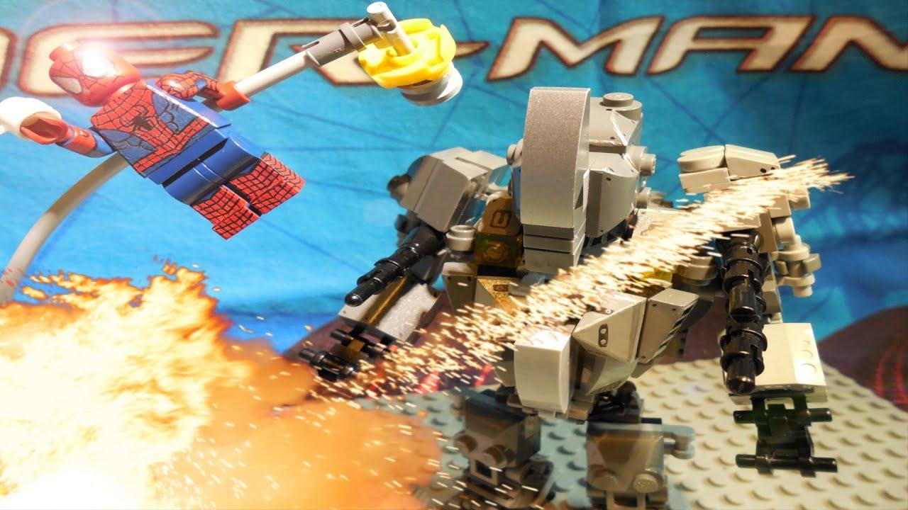 Lego marvel the amazing spider man 2 minifigures showcase youtube - Lego the amazing spider man 3 ...