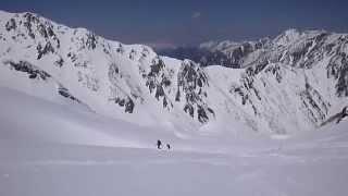 130503-06 槍ヶ岳~涸沢 山スキー