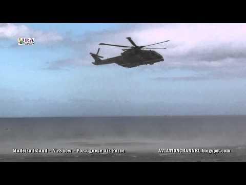Portuguese Air Force AirShow Funchal Madeira Island