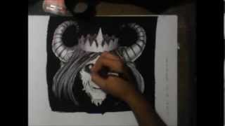 the lich (speed drawing)
