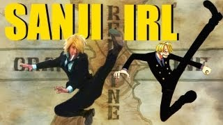 Sanji IRL (In Real Life) - One Piece Cosplay!